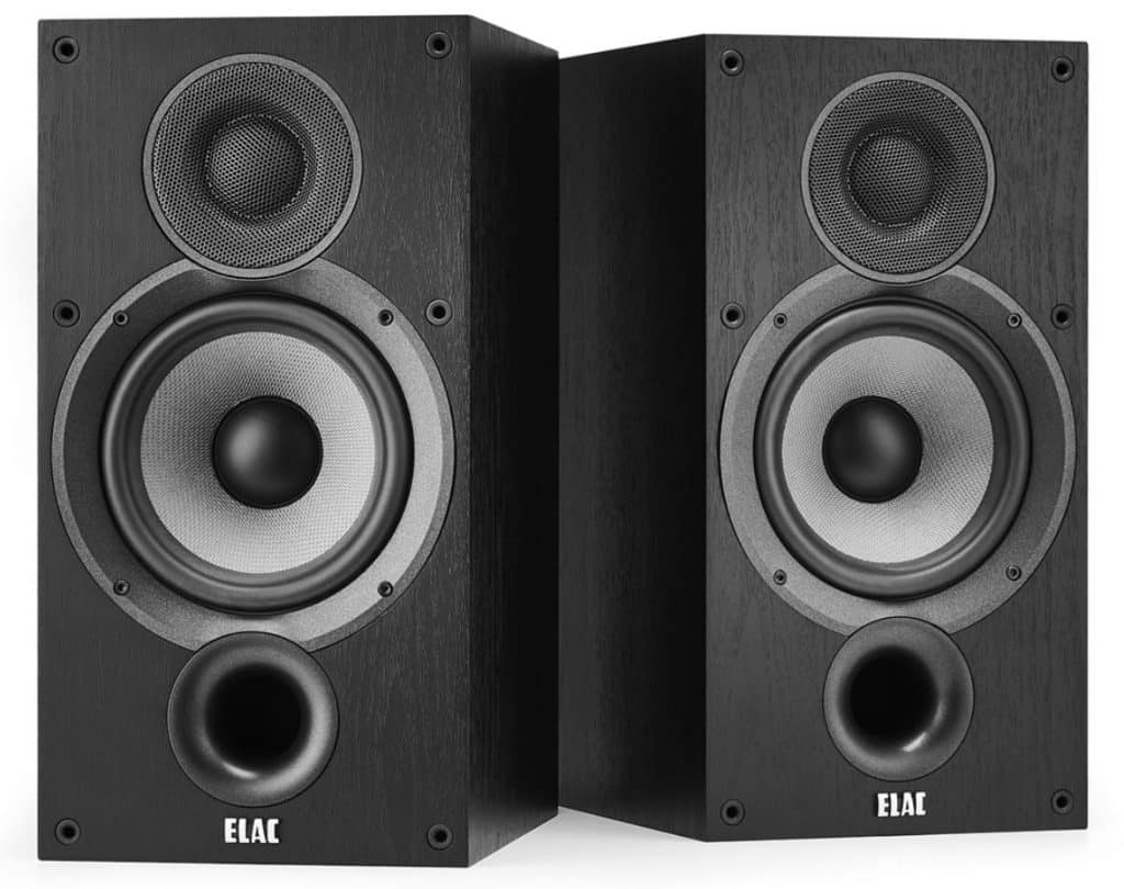 Elac Debut 2.0 B6.2 Bookshelf Speakers - Best For Delivering Heavy Bass