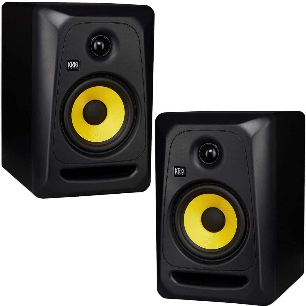 KRK Studio Monitor (59107) - Best For Sound Balancing